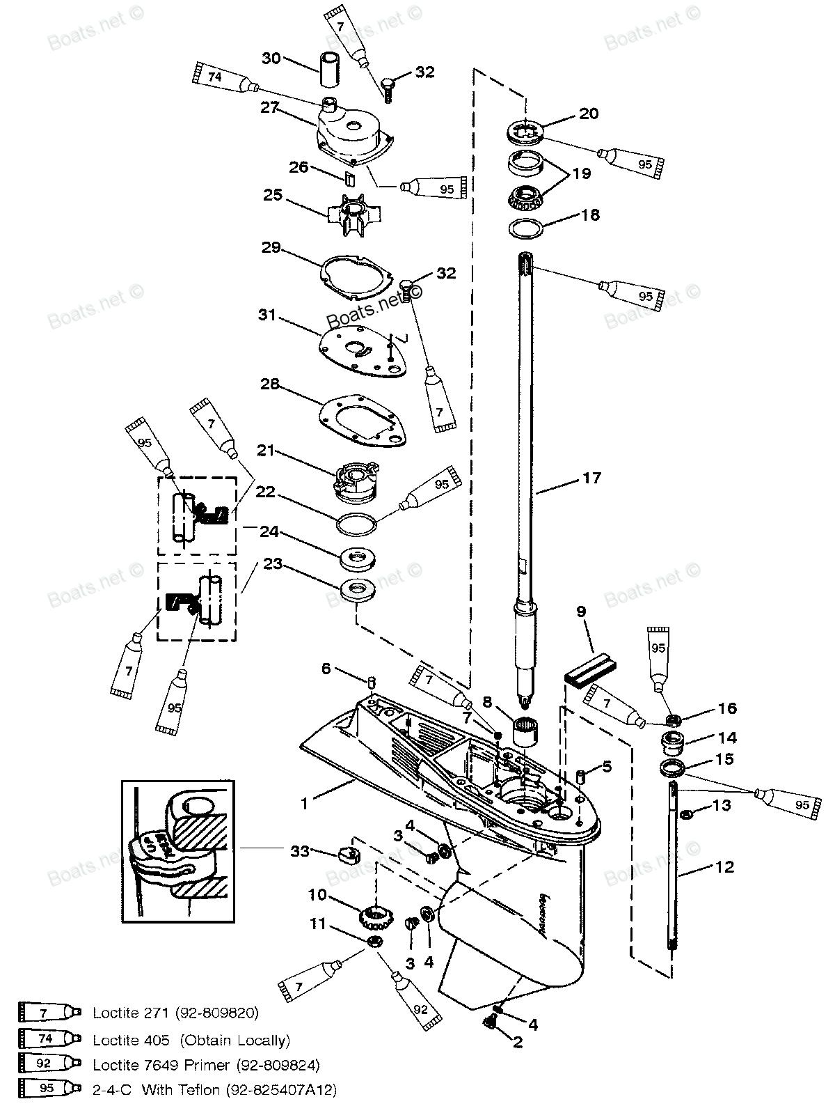 замена сальников редуктора лодочный мотор 9.9 ямаха