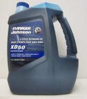 Масло Моторное, Johnson/Evinrude/OMC, XD50, Synthetic Blend, для двухтактных подвесных двигателей(3.79л) - 764354