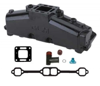 Выпускной Коллектор, Mercruiser GM 305 5.0L, 350 5.7L V8 Ризер(центр. расположение) - GLM51230