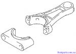 Шатун,Suzuki,2003-2009, DF4 - 6л.с.,12160-90910-0A0