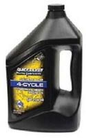 Моторное масло Quicksilver 25W40,(4л)  на синтетической основе,  Стационарные двигателя, 92-858056QE1