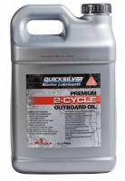 Масло Моторное, Quicksilver TCW 3 Premium (10л), для 2-х тактн. - 858023QB1