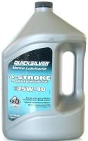 Масло Моторное, Quicksilver, 25W40, для 4-х тактн. двигателей минеральное (4л.) - 858049QE1 (8M0086224)