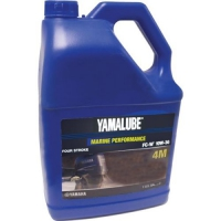 Моторное Масло, Yamalube 4,10W30, Mineral Oil(4л.) - LUB-10W30-FC-04