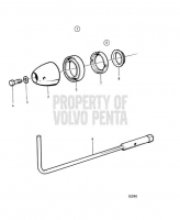 Propeller Cone Kit. tool, Cone Tightening. Duoprop.