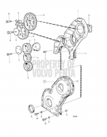 Timing Gear Cover and Gears TMD31B, TAMD31B, AD31B