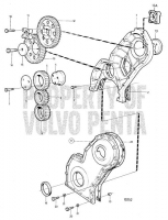 Timing Gear Cover and Gears AD31, AQAD31A