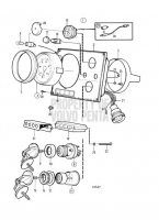 Instrument Panel for Dual St., 12V, Earlier Production: 848999 TAMD71B