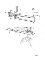 installation kit for steering cable without power steering