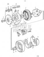 Alternator 14V 50A, Components TAMD71B, TAMD73P-A, TAMD73WJ-A