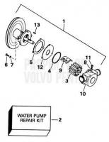 Seawater Pump Parts 5.0FiPMDA, 5.0FiPMDM, 5.8FiPMDA, 5.8FiPMDM