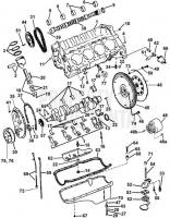 Crankcase and Маслосборник 8.2GSIXNCB