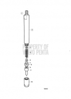 Fuel Injector, Components TAMD72A
