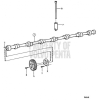 Camshaft TAMD162C-C, TAMD163A-A, TAMD163P-A