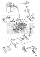 Топливный Насос and Fuel Filter. Standard Fuel System: B TAMD71A, TAMD72A