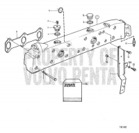 Exhaust Pipe: B TAMD71A, TAMD72A