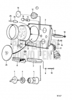 Instrument Panel Standard, with Key Switch MD2010-C, MD2010-D, MD2020-C, MD2020-D, MD2030-C, MD2030-D, MD2040-C, MD2040-D