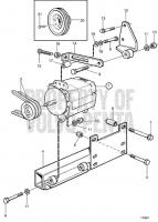 Alternator, Side Mounted TAMD71B, TAMD73P-A, TAMD73WJ-A