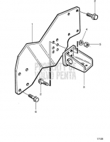 Engine Mounts for Reverse Gear IRM220V-LD/ZF 220IV TAMD63L-A, TAMD63P-A