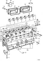 Cylinder Block TAMD63L-A, TAMD63P-A