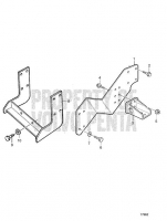 Engine Suspension for Reverse Gear MG 5062V, MG 5062V-E TAMD63L-A, TAMD63P-A