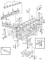 Cylinder Block: B TAMD163A-A