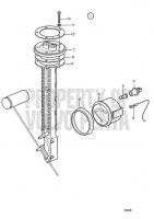 Tank Meter Kit for Fuel: 12V TAMD71B, TAMD73P-A, TAMD73WJ-A