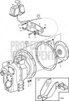 Reverse Gear ZF280IV TAMD74L-A, TAMD74L-B, TAMD74P-A, TAMD74P-B, TAMD75P-A