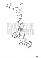 Handle for Control TAMD71B, TAMD73P-A, TAMD73WJ-A
