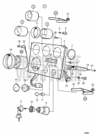 Instrument Panel 12V TAMD71B, TAMD73P-A, TAMD73WJ-A