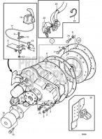 Reverse Gear IRM301A, IRM301A-EB/ZF 301A-EB TAMD74C-A, TAMD74C-B, TAMD74L-A, TAMD74L-B, TAMD74P-A, TAMD74P-B, TAMD75P-A