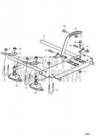 Universal Bracket for Reverse Gear D2-75, D2-75B, D2-75C, D2-60F, D2-75F