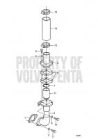 Crankcase Ventilation D25A-MT AUX, D25A-MS AUX, D30A-MT AUX, D30A-MS AUX