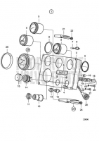 Instrument Panel 24V D25A-MT, D25A-MS, D30A-MT, D30A-MS