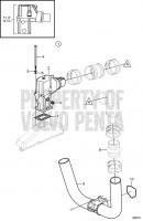 Exhaust, 3'' Risers 4.3GL-E, 4.3GL-EF