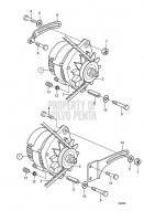 Alternator: B MD2040-C, MD2040-D
