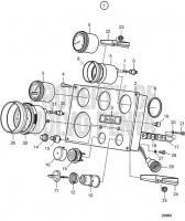 Instrument Panel 12V MD2010-C, MD2010-D, MD2020-C, MD2020-D, MD2030-C, MD2030-D, MD2040-C, MD2040-D