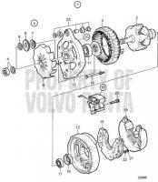 Alternator 14V 60A, Components TAMD71B, TAMD73P-A, TAMD73WJ-A