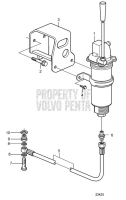 Oil Drain Pump and Installation Parts, Engine Mounted D11A-A, D11A-B, D11A-C, D11A-D MP, D11A-D (IPS), D11A-E, D11A-C MP