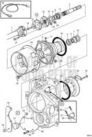 Jack Shaft Kit D6-280A-A, D6-280A-B, D6-280A-E, D6-310A-A, D6-310A-B, D6-310A-C, D6-310A-D, D6-330A-B, D6-330A-C, D6-330A-D, D6-350A-A, D6-350A-B, D6-370A-B, D6-370A-C, D6-370A-D, D6-310A-E, D6-330A-E, D6-370A-E, DPH-A, TSK DPH-B, DPR-A, DPR-B