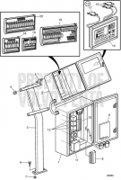 Controlpanel, DCU305 D25A-MT, D25A-MS, D30A-MT, D30A-MS
