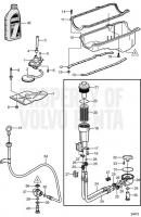 Маслосборник and Oil Pump 5.0GXiE-K, 5.0GXiE-KF, 5.0GXiE-M, 5.0GXiE-MF, 5.0GXiE-N