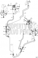 Exhaust Thermostat System, Freshwater Cooling 5.0GXiC-270-R, 5.0GiC-225-S