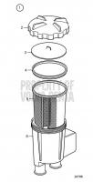 Seawater Filter V8-300-CE-G, V8-350-CE-G, V8-300-CE-H, V8-350-CE-H