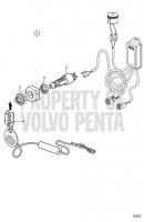 Safety Lanyard V8-270-CE-A