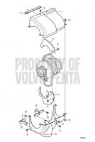 Heat Shield for Turbo D13B-E MH, D13B-N MH