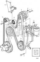 Serpentine Belt and Alternator V8-270-CE-A