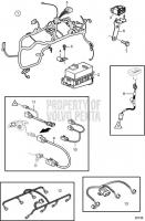 Engine Harnesses 8.1GiC-400-J, 8.1GiC-400-JF, 8.1GiC-400-Q