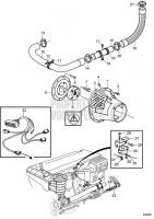 Jack Shaft, Connecting Components D6-280I-A, D6-280I-B, D6-280I-C, D6-280I-D, D6-280I-E, D6-310I-A, D6-310I-B, D6-310I-C, D6-310I-D, D6-310I-E