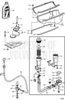 Маслосборник and Oil Pump 5.0GXiE-JF, 5.0GXiE-J, 5.0OSiE-JF, 5.0OSiE-J